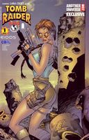 Tomb Raider #1 - Marc Silverstri Variant Cover - Another Universe Exclusive